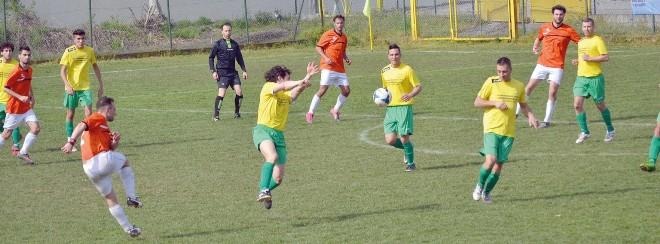 match tra Virtus Saluggese e Nuova Sciolze