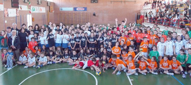 torneo di mini volley Cigliano