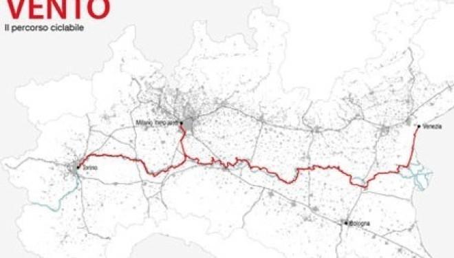 LIVORNO FERRARIS: La Pro Loco aderisce al progetto Ven-To, pista ciclabile lungo il Po