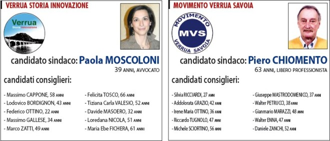 Comunali Verrua Savoia 2014