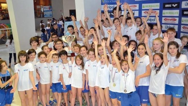 """NUOTO – La Dynamic Sport Crescentino in bella mostra al """"Trofeo del'Orso"""""""