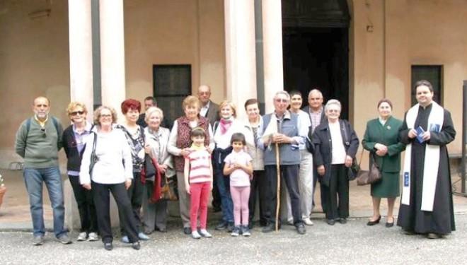 LAMPORO: Pellegrinaggio alla Madonna del Palazzo