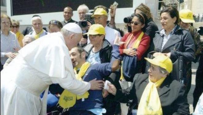 MONCRIVELLO: Dal Trompone in udienza privata da Papa Francesco