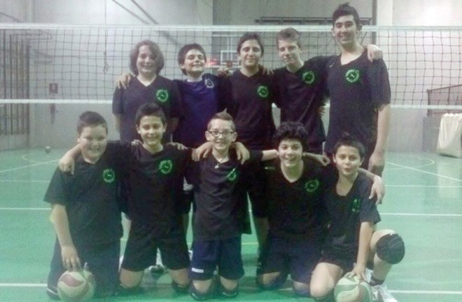 Under 14 maschile del Volley Crescentino