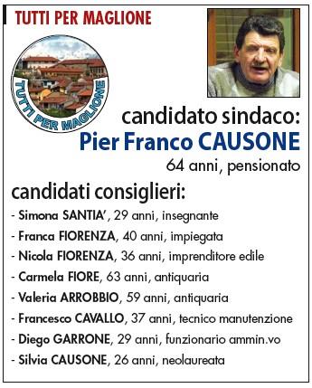 elezioni comunali maglione 2014