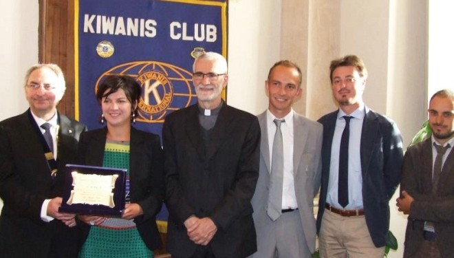 "Il premio We Build del Kiwanis all'Anga per la ""Fiera in campo"""