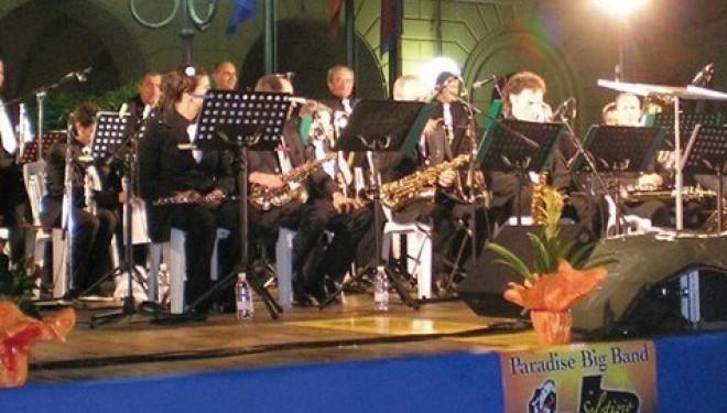 Venerdì 27 giugno: La Paradise Big Band suona a Saluggia