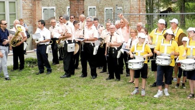 """Saluggia: La Banda """"Don Bosco"""" al raduno di Brusasco"""
