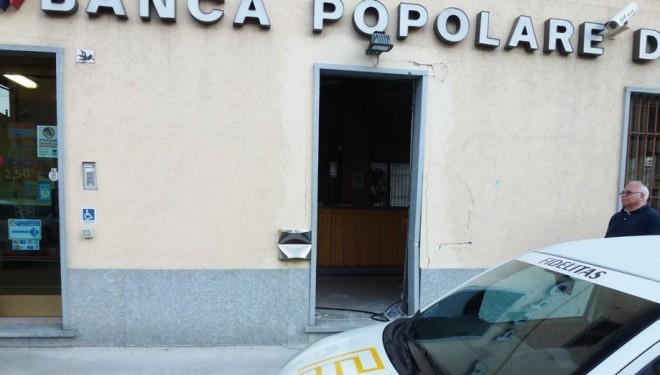 Saluggia: Asportato il bancomat della Bpn