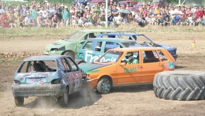 """Villareggia: Nel weekend il """"Demolition Derby"""""""