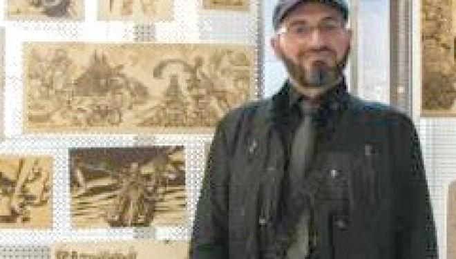 La natura nelle pirografie del tronzanese Ivan Grasso