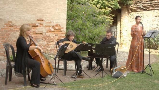 Pomeriggio di gala al Castello di Moncrivello