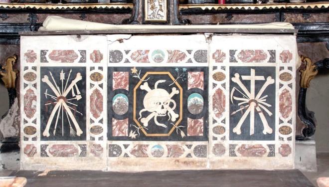 Domenica 13 luglio: Un paliotto di Giacomo Solari nella parrocchiale di Palazzolo