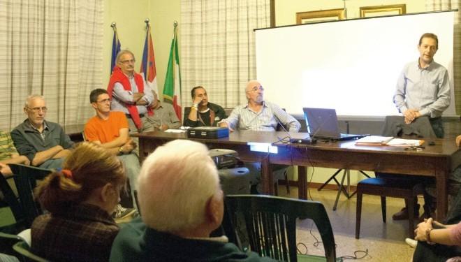 Villareggia: Stazione radio base in via Convento