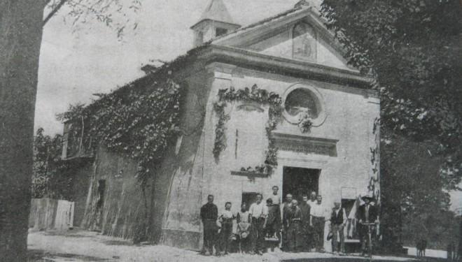 Crescentino: la chiesetta della frazione Campagna